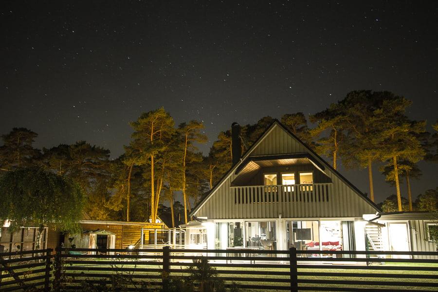 ahus-sweden-night-photo