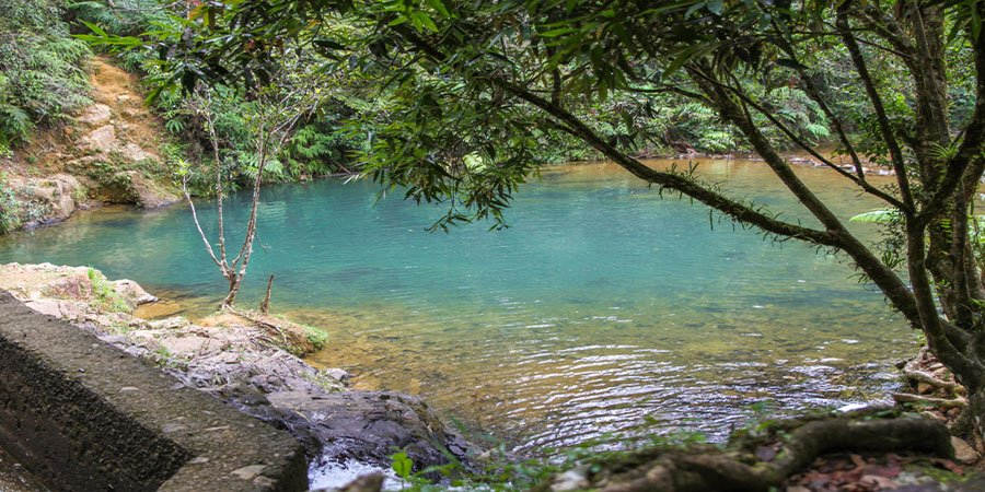 Charco Azul Swimming hole, Puerto Rico