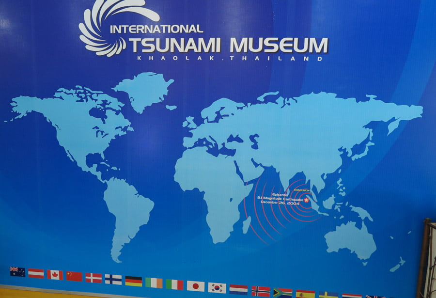 Tsunami museum in Thailand
