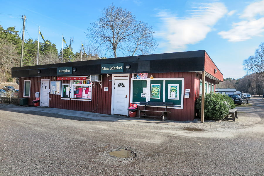 Angby camping Reception building
