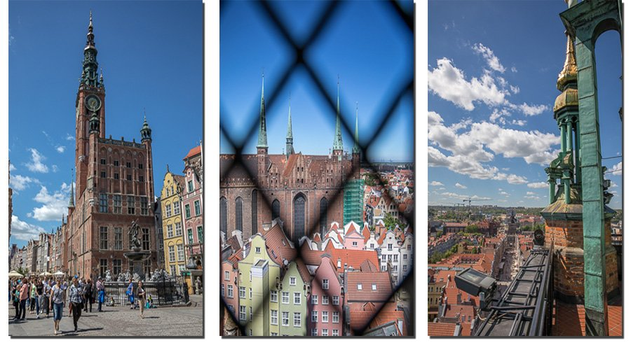 Amazing view from Town Hall in Gdansk