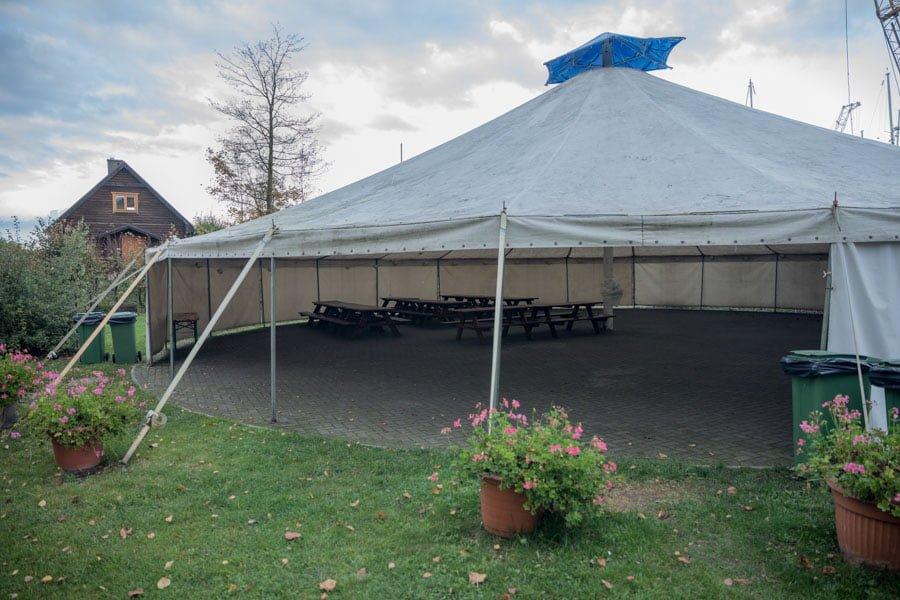 Camping in Szczecin
