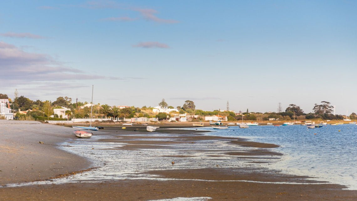 Ria Formosa in Portugal