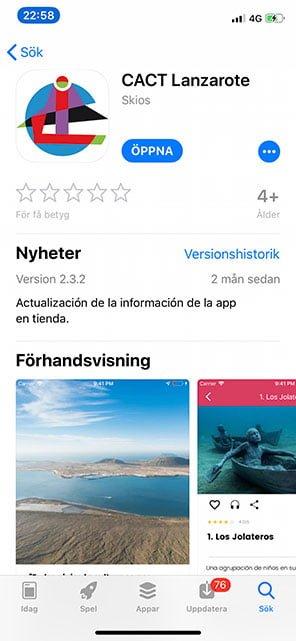 Cact Lanzarote app