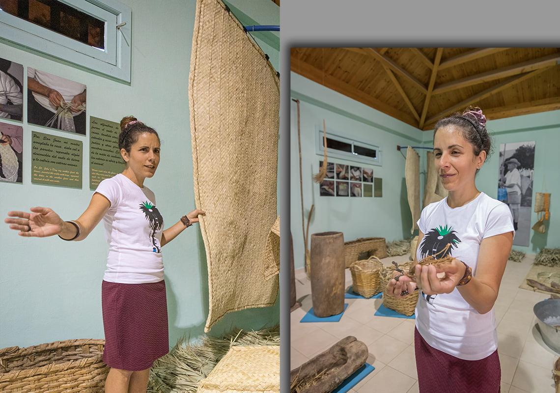 Lorena Garcia Noda at Casa de la Miel de Palma