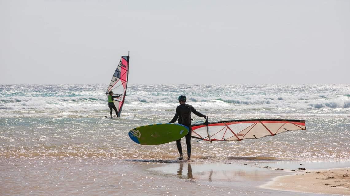 Fuerteventura Windsurfer