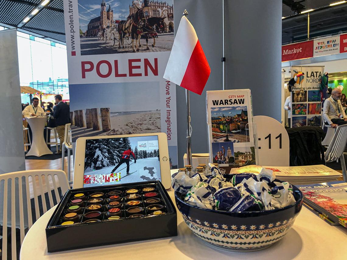 Travel News Market in Stockholm