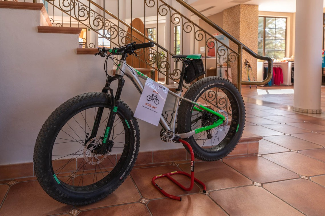 Rent a bike at La Pared