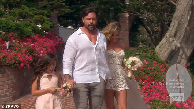 2018 wedding:Denise and the Canadian 49-year-old - who share 10-year-old daughter Eloise Joni - just celebrated their third wedding anniversary last month