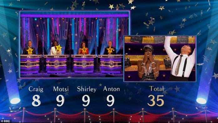 Yay! AJ Odudu and her partner Kai Widdrington pulled off another incredible performance on Saturday night's Strictly Come Dancing Movie Week special