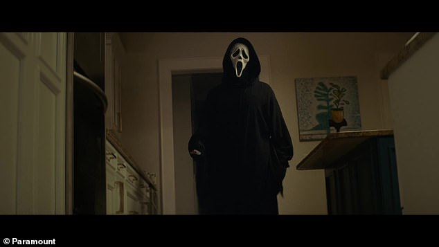 Back for more: The fifth installment of the horror series, Scream, will be released in theaters on January 14, 2022
