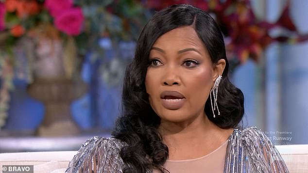 Also mad:'When I heard that that really pissed me off,' Garcelle said