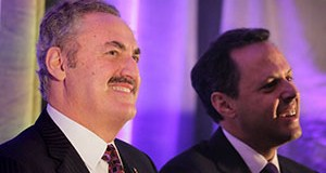 Vikings owners Zygi, left, and Mark Wilf filed an appeal Wednesday of a New Jersey court ruling requiring then and their family to pay $100 million in damages and legal fees over a broken deal to develop an apartment complex. (File photo: Bill Klotz)