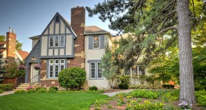 Classic lines and a major kitchen upgrade helped the sellers of this 1935 Tudor Craftsman at 2151 Bayard Ave. in St. Paul sell it for $670,000 after just four days on the market. (Submitted photo: Rare Form Properties)