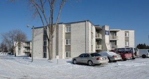 The apartments at 500 Greenhaven Road in Anoka, which have been known as Golfview Apartments, Fairway Flats and the Meadows at Greenhaven over the years, have a new owner who paid $2.56 million for the 36-unit building once again named Fairway Flats. (Submitted photo: CoStar)
