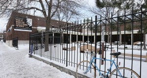 Catholic Charities plans to build a new homeless shelter at or near the existing Dorothy Day Center, 183 Old Sixth St W., St Paul. The existing building, which opened in 1981, is overcrowded and deteriorating. (File photo: Bill Klotz)