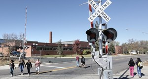 The Metropolitan Council spent $115,527 studying options to reroute freight rail from Minneapolis' Kenilworth Corridor when Southwest Light Rail comes in, including an option that would send Twin Cities and Western Railroad Co. trains by St. Louis Park High School. (File photo: Bill Klotz)