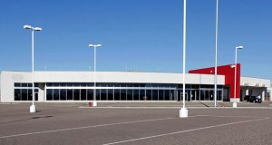 Quality RV in Ramsey will be moving this weekend to this former car dealership at 3801 Chelsea Drive W., Monticello. Once home to Denny Hecker's Monticello Dodge, Chrysler, Jeep, Kia and Suzuki, it closed in 2008 as Hecker's auto empire crumbled. (Submitted photo: CoStar)