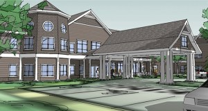 St. Therese Senior Living plans a May 1 opening for its new 78-unit senior housing development on the campus of The Church of St. Therese in Deephaven. (Submitted rendering: Pope Associates)