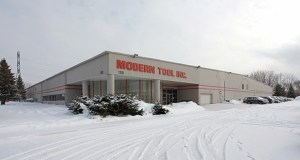 The founder of Modern Tool Inc. has sold the metal fabrication company and its plant at 1200 Northdale Blvd. in Coon Rapids to an Ohio private equity company. (Submitted photo: CoStar)