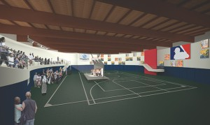 RJM Construction and HGA, both based in Minneapolis, are donating their services to the Jerry Gamble Boys & Girls Club project. Click to view larger rendering. (Submitted rendering: HGA)