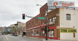The Seven Corners Hardware store at 216 W. Seventh St. in St. Paul opened in 1933 and will close May 24. (Staff photo: Bill Klotz)