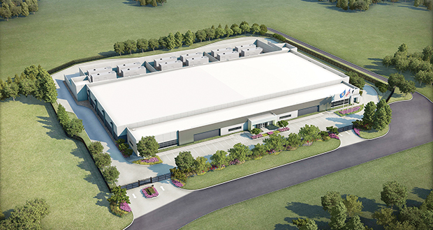 "Dallas-based Stream Data Centers has nearly completed a new 82,000-square-foot facility in Chaska. ""Minnesota has done a good job of creating tax abatements that have achievable thresholds that positively impact us and our end users,"" says Anthony Bolner, Stream Data's managing director and partner. (Submitted rendering)"