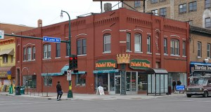The lights will go dark this fall on the familiar Falafel King sign, marking the planned closing of the Uptown location of the Twin Cities restaurant chain. Falafel King owner Fouad Masroujeh has sold the building at 701 W. Lake Ave. in Minneapolis for $1.22 million. (Submitted photo: CoStar)