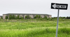 St. Cloud-based Trident Development has proposed the Remington Cove Apartments for vacant land on the southeast quadrant of Galaxie Avenue and Founders Lane in Apple Valley. The site is immediately north of the Kingston Green Apartments (pictured). (Staff photo: Bill Klotz)