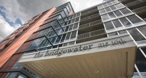 Nearly a dozen owners in the Bridgewater Condos building at 215 10th Ave. S. in Minneapolis have sold their units to move into the Stonebridge Lofts nearby. (File photo: Bill Klotz)