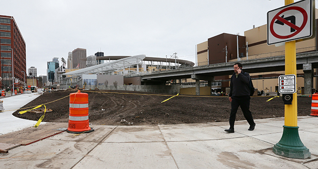 United Properties plans to build an 11-story structure at the southeast corner of Fifth Street North and Sixth Avenue North in Minneapolis. The project, adjacent to the Target Field Station, is recommended for a $26,625 grant from the Metropolitan Council. (File photo: Bill Klotz)