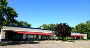 The owner of SJ Harris Fabric Outlet in Brooklyn Park is renovating this vacant retail building at 3701 Highway 13 W. in Burnsville to house a second location for his business. (Submitted photo: CoStar)