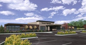 Eagan-based MSP Commercial recently broke ground on a new building next door to the 30-year-old Allina Health clinic at 11269 Jefferson Highway in Champlin. MSP has acquired the site and plans to demolish the old building when the new one opens in 2015. (Submitted photo: Allina Health)