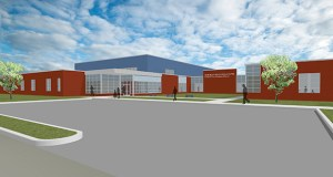 Special education students in grades K-12 will be served in this new 65,500-square-foot building at Highway 58 and Guernsey Lane in Red Wing. The project is scheduled for completion in August 2015. (Submitted rendering: MLA Architects)