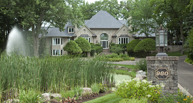 This four-bedroom, seven-bath Lake Minnetonka home at 980 Ferndale Road W. in Orono has sold for $2.6 million. (Submitted photo: Landmark Photography)