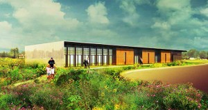 A 10,700-square-foot bee research laboratory on the University of Minnesota's St. Paul campus, as seen in this predesign image from Meyer, Scherer & Rockcastle, will replace the small existing facilities. (Submitted image: Meyer, Scherer & Rockcastle)