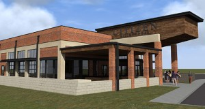 This is the proposed design of the Citizen kitchen + bar, a new restaurant four Twin Cities-based entrepreneurs are planning along Commerce Drive in Rochester. (Submitted image: Wilkus Architects)