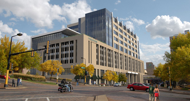 Scheduled to open in April 2016, the new headquarters for Maurices will be home to 450 employees. (Submitted rendering)
