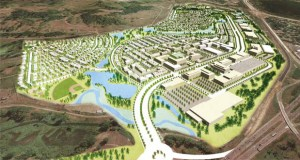 The city of Arden Hills and Ramsey County envision the 427-acre former TCAAP site as home to 1,415 housing units and over 4,300 jobs once it's fully developed. (Submitted rendering)