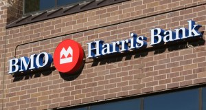 BMO Harris Bank has 600 branches, including this location in an office building at 5775 Wayzata Blvd. in St. Louis Park. The bank recently said it aims to make an additional $3 billion in credit available to businesses in Minnesota over the next three years. (Staff photo: Bill Klotz)