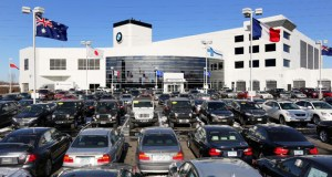 Zoning changes for auto dealerships in Bloomington's Penn-American district were modeled after the Motorwerks BMW at 1300 American Blvd., near the southeast quadrant of Interstates 35W and 494. (Staff photo: Bill Klotz)