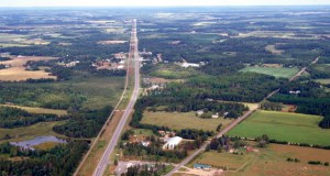 The Minnesota Department of Transportation hopes to start construction in spring 2016 on a $58 million expansion of Highway 371 between Nisswa and Jenkins, as seen in this submitted photo. (Submitted photo)