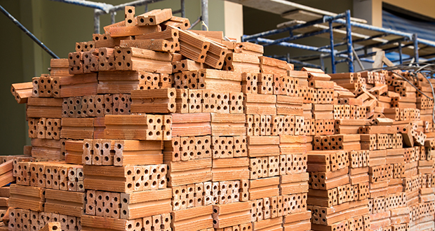 In Minnesota, the law makes clear that sales or use tax on building materials, such as these bricks, is the responsibility of the contractor. (Shutterstock)
