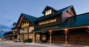 Minneapolis-based Kraus-Anderson has been selected to build two new Cabela's stores in New York and Ohio. The stores will feature log construction, stonework, wood siding and metal roofing on the exterior. (Submitted rendering)