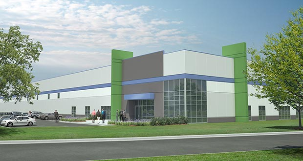 Hillcrest Development and The Opus Group will develop the Southeast Industrial Park on 40 acres at the northwest corner of Hemingway Avenue South and 91st Street South in Cottage Grove. (Submitted rendering)