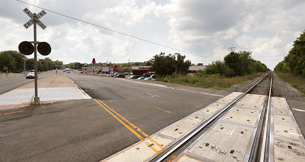 Forgoing joint development with a private sector partner at the Blake Road station in Hopkins could save up to $15 million. It's one of several items up for elimination as part of an effort to reduce costs on the $2 billion Southwest Light Rail Transit Line. (File photo: Bill Klotz)