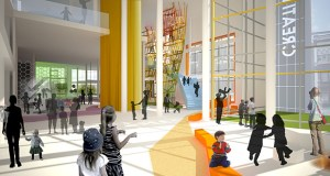 The Minnesota Children's Museum's $28 million expansion and renovation, as seen in this submitted visual, could be affected by the lack of a bonding bill in 2015 — even though the project received funding last year. (Submitted rendering)