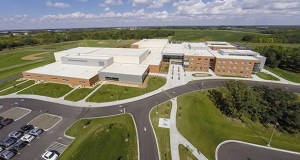 Alexandria's new 283,000-square-foot high school was a collaboration between Kraus-Anderson as contractor, Cuningham Group as architect, and Clark Engineering as project engineer. (Submitted photo)