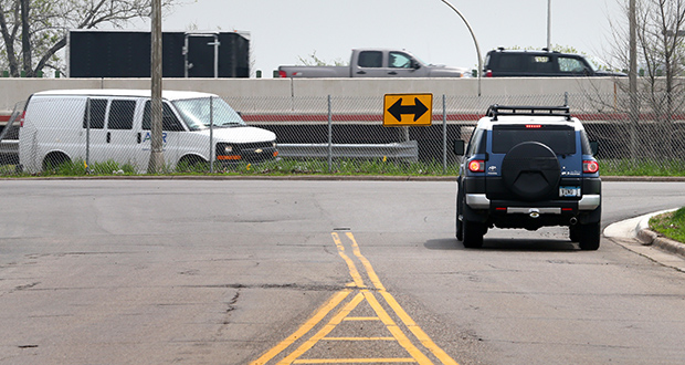 With help from a proposed $21 million underpass project, funded in part in the 2014 and 2015 bonding bills, the city of Richfield hopes to improve development prospects for this area within the northwest quadrant of Highway 77 and Interstate 494. (File photo: Bill Klotz)