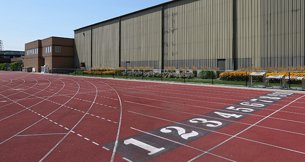 One of the remaining design issues looming for the $150 million Athletes Village project at the University of Minnesota is what to do with the existing track and field practice facilities, as seen in this file photo.  (File photo: Bill Klotz)